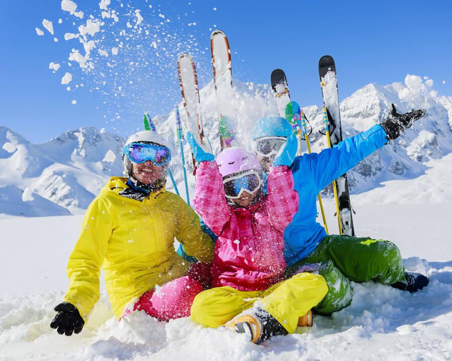 Sun skiing 7 days stay